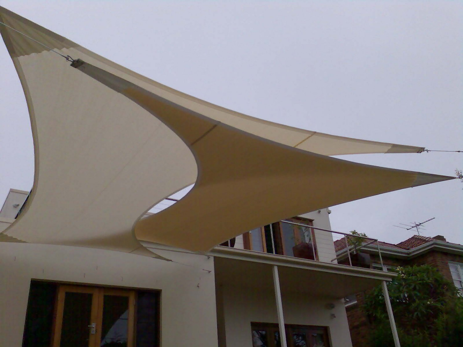 shade awning sails