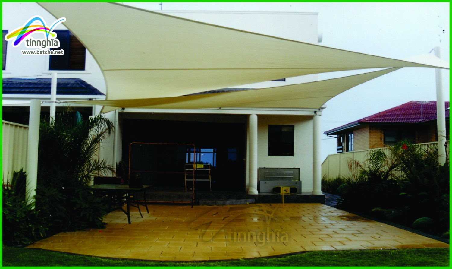Quadrilateral Shade Sails