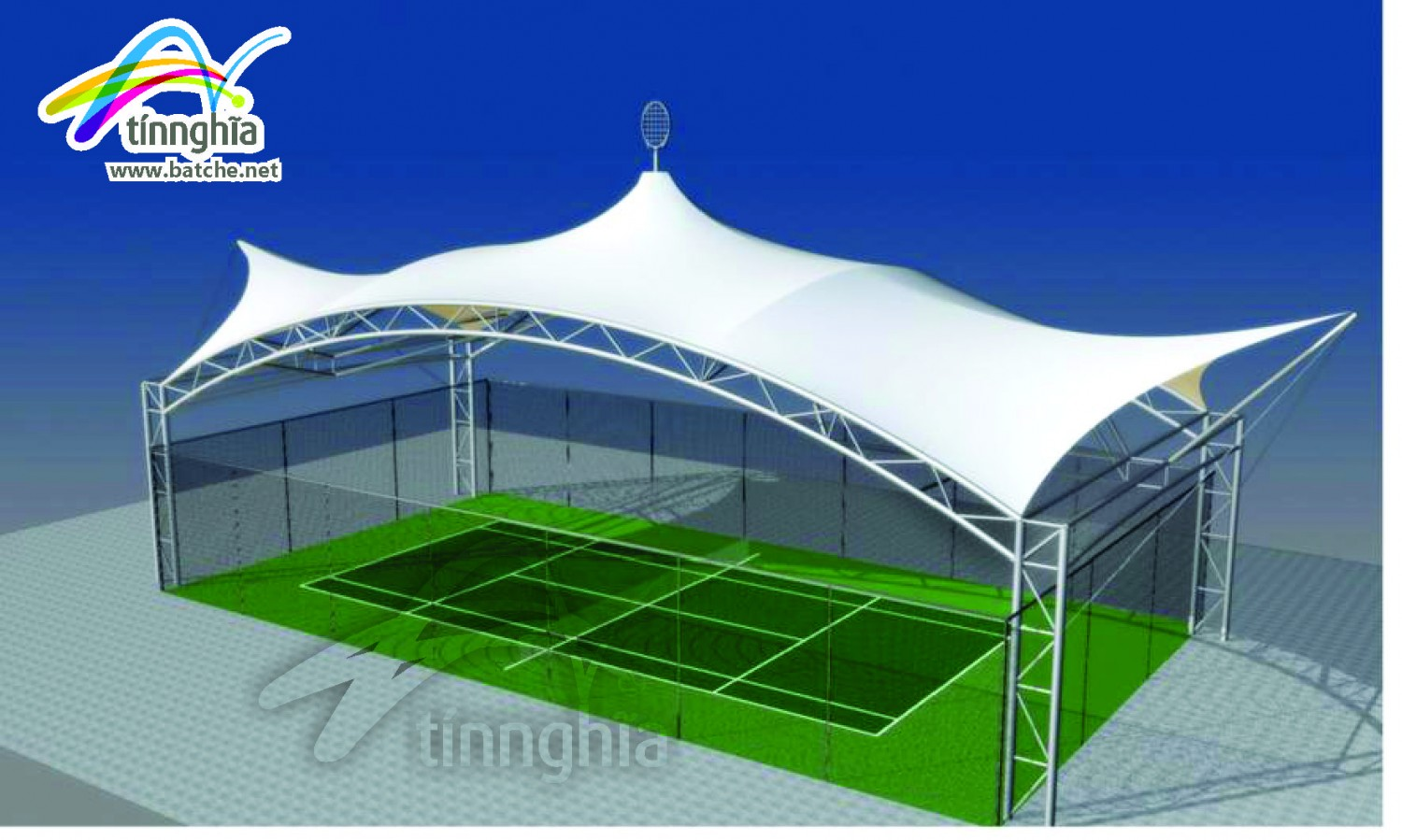 Shade Sails for Tennis Court