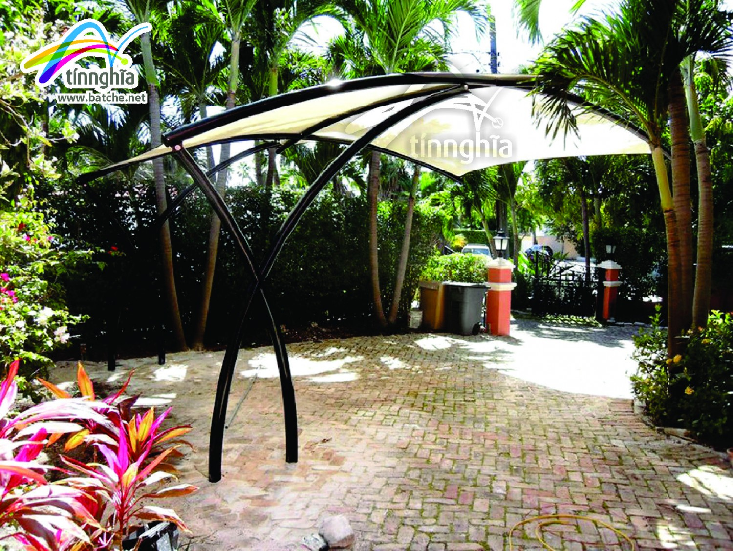 Square Shade Sails for garden