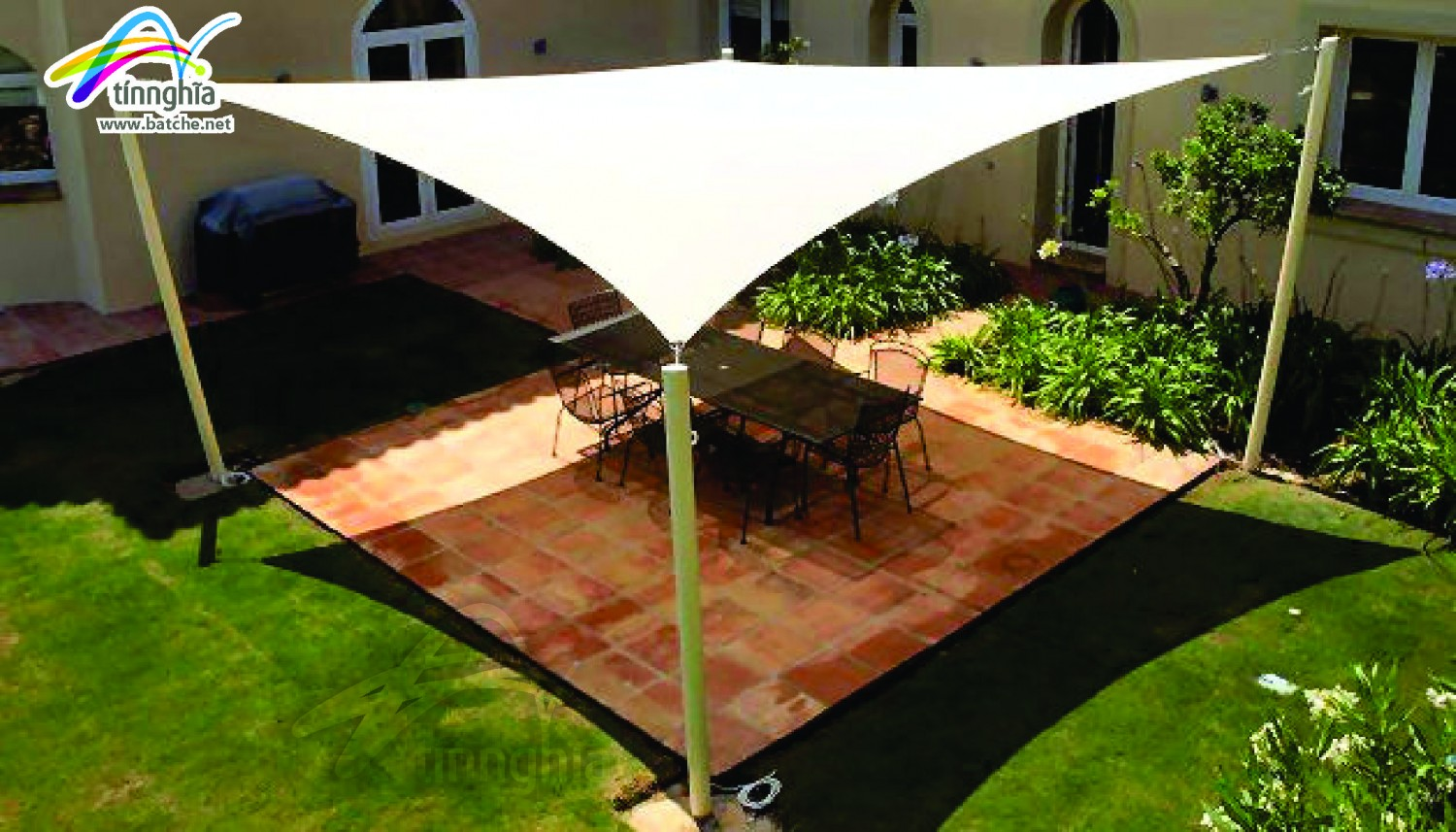 Square Shade Sail 1